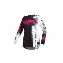 Off road- O'NEAL ELEMENT Women Jersey SHrosso rosa