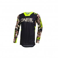 Off road- O'NEAL MAYHEM LITE Jersey AMBUSH neon giallo