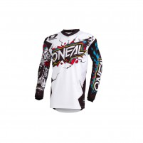 Off road- O'NEAL ELEMENT Youth Jersey VILLAIN bianco