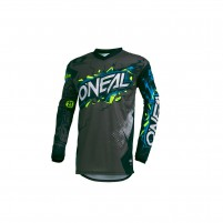 Off road- O'NEAL ELEMENT Youth Jersey VILLAIN grigio