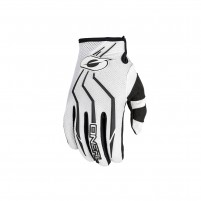 Guanti moto- O'NEAL ELEMENT Women´s Glove bianco