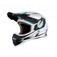 Casco Cross - Enduro- O'NEAL 3SERIES Helmet RIFF verde acqua