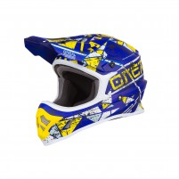 Casco Cross - Enduro- O'NEAL 3SERIES Helmet ZEN blu