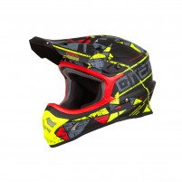 Casco Cross - Enduro- O'NEAL 3SERIES Helmet ZEN neon giallo