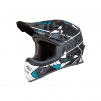 Casco Cross - Enduro- O'NEAL 3SERIES Helmet ZEN verde acqua
