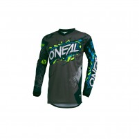 Off road- O'NEAL ELEMENT Jersey VILLAIN grigio