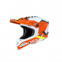 Casco Cross - Enduro- O'NEAL 8SERIES Helmet BLIZZARD arancione
