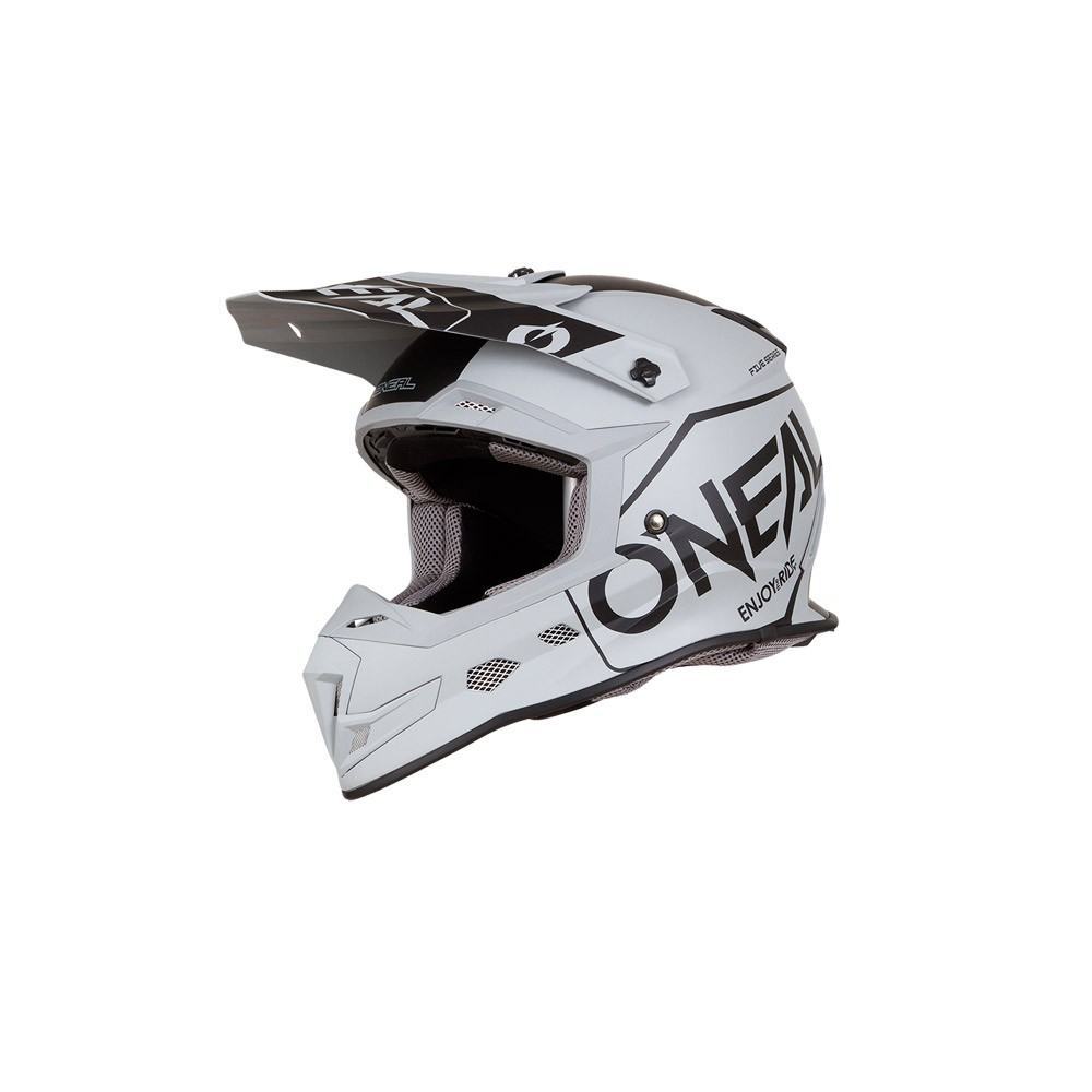 Casco Cross - Enduro- O'NEAL 5SERIES Helmet HEXX grigio