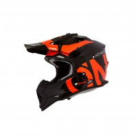Casco Cross - Enduro- O'NEAL 2SERIES Youth Helmet SLICK nero/arancione