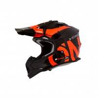Casco Cross - Enduro- O'NEAL 2Series RL Helmet SLICK nero/arancione
