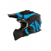 Casco Cross - Enduro- O'NEAL 2Series RL Helmet SLICK nero/blu
