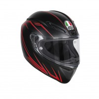 Casco Integrale, AGV GT VELOCE S MULTI ECE2205 PLK PREDATORE MATT BLACK-RED