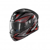 Casco Integrale- SHARK HELMETS SKWAL 2 DRAGHAL Nero-Antracite-Rosso
