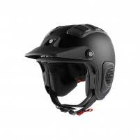 Casco Cross - Enduro- SHARK HELMETS ATV-DRAK Mat Nero Opaco