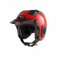 Casco Cross - Enduro- SHARK HELMETS ATV-DRAK Rosso
