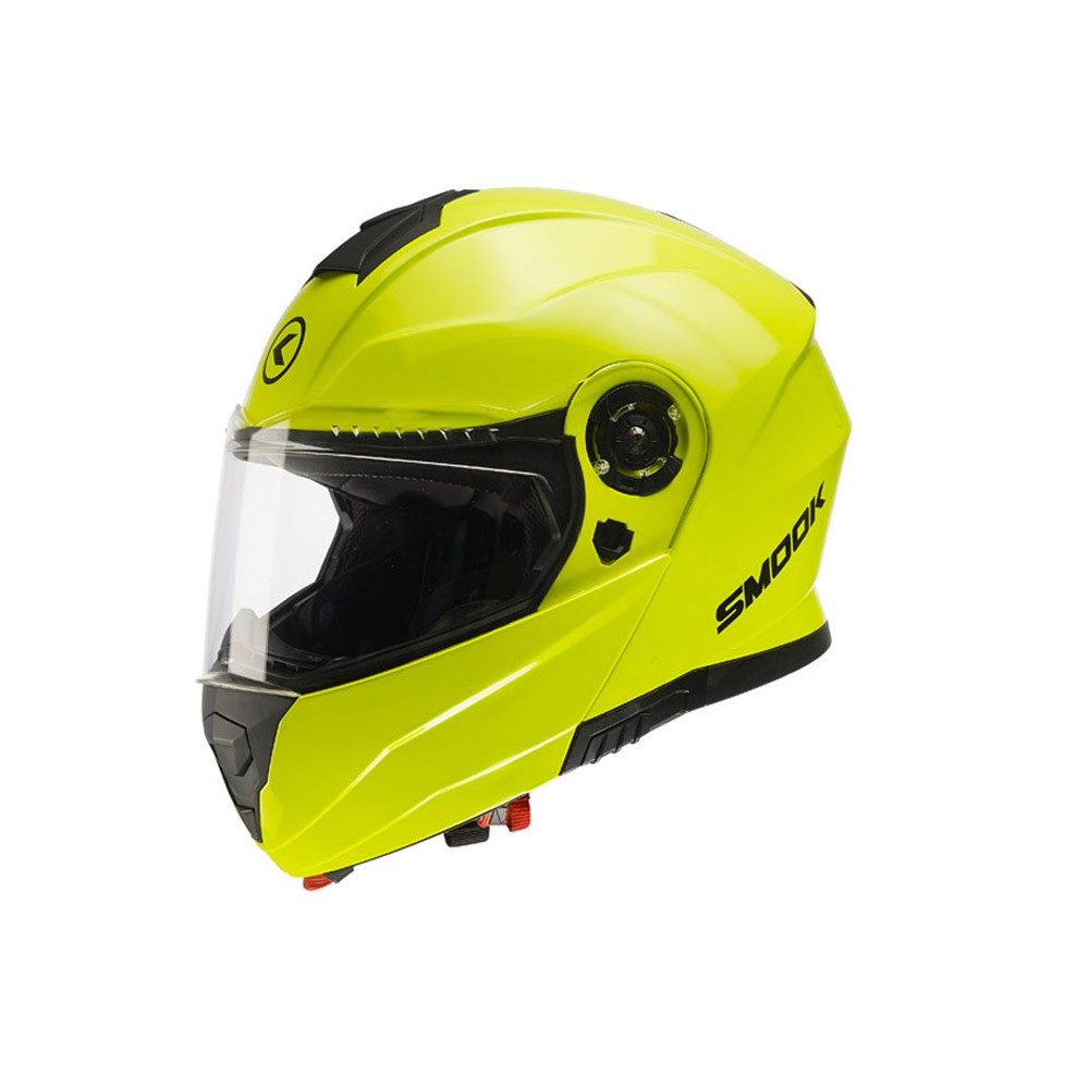 Casco Modulare- SMOOK H-Flip Up Giallo Fluo
