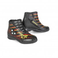 Scarpa Racing- STYLMARTIN SPEED JR S1 NERO/ROSSO/GIALLO FLUO