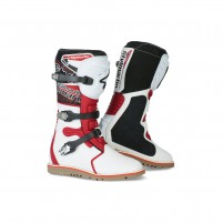 Stivale Off Road- STYLMARTIN IMPACT PRO BIANCO/ROSSO