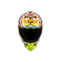 Casco Cross - Enduro- KIT BY SUOMY CASCO KYT SKYHAWK TEMPER GIALLO FLUO