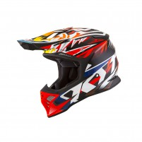 Casco Cross - Enduro- KIT BY SUOMY CASCO KYT SKYHAWK TEMPER ROSSO