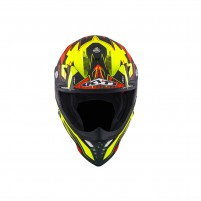 Casco Cross - Enduro- KIT BY SUOMY CASCO KYT SKYHAWK DIGGER MATT GIALLO/ARANCIONE