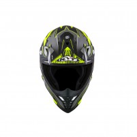 Casco Cross - Enduro- KIT BY SUOMY CASCO KYT SKYHAWK DIGGER MATT NERO/GIALLO