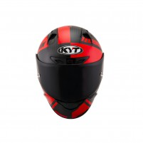 Casco Integrale- KIT BY SUOMY CASCO KYT NX RACE CARBON RACE-D ROSSO FLUO