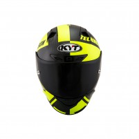 Casco Integrale- KIT BY SUOMY CASCO KYT NX RACE CARBON RACE-D GIALLO FLUO