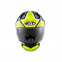 Casco Integrale- KIT BY SUOMY CASCO KYT NF-R ARTWORK GIALLO/GRIGIO