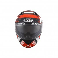 Casco Integrale- KIT BY SUOMY CASCO KYT NF-R ENERGY MATT ANTRACITE/ROSSO
