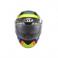 Casco Integrale- KIT BY SUOMY CASCO KYT NF-R ENERGY VERDE/BLU