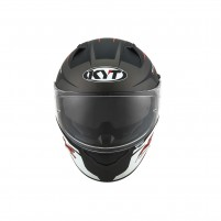 Casco Integrale- KIT BY SUOMY CASCO KYT NF-R TRACK MATT GRIGIO