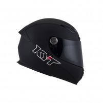 Casco Integrale- KIT BY SUOMY CASCO KYT KR-1 PLAIN MATT NERO