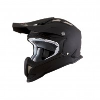 Casco Cross - Enduro- KIT BY SUOMY CASCO KYT STRIKE EAGLE PLAIN MATT NERO