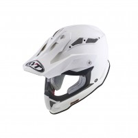 Casco Cross - Enduro- KIT BY SUOMY CASCO KYT STRIKE EAGLE PLAIN BIANCO