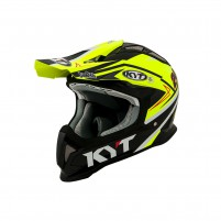 Casco Cross - Enduro- KIT BY SUOMY CASCO KYT STRIKE EAGLE SIMPSON REPLICA GIALLO