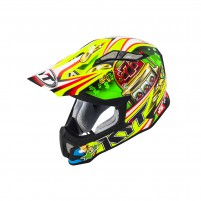 Casco Cross - Enduro- KIT BY SUOMY CASCO KYT STRIKE EAGLE ROULETTE