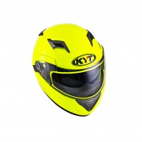 Casco Modulare- KIT BY SUOMY CASCO KYT CONVAIR PLAIN GIALLO FLUO