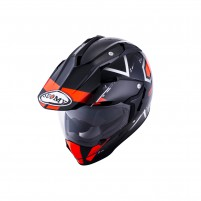 Casco Cross - Enduro- SUOMY CASCO MX TOURER ROAD ARANCIONE