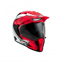 Casco Cross - Enduro- SUOMY CASCO MX TOURER DESERT ROSSO