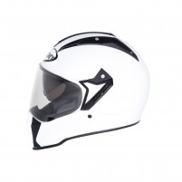 Casco Cross - Enduro- SUOMY CASCO MX TOURER PLAIN BIANCO