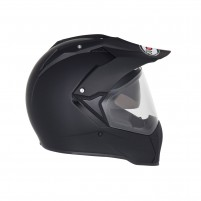 Casco Cross - Enduro- SUOMY CASCO MX TOURER PLAIN MATT NERO