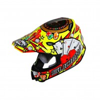 Casco Cross - Enduro- SUOMY CASCO MR JUMP JACKPOT GIALLO