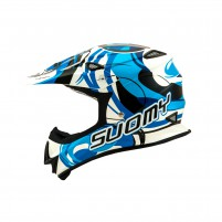 Casco Cross - Enduro- SUOMY CASCO MR JUMP VORTEX BLU