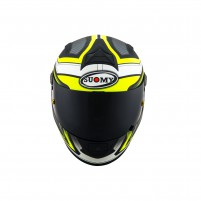 Casco Integrale- SUOMY CASCO SR-SPORT ENGINE MATT NERO/GIALLO FLUO