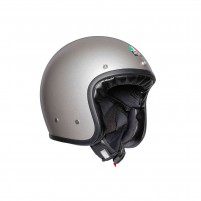 Casco Jet - Demi Jet- AGV X70 MONO MATT LIGHT GRIGIO