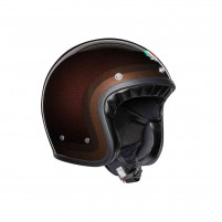 Casco Jet - Demi Jet- AGV X70 MULTI TROFEO CHOCOLATE