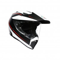 Casco Integrale- AGV AX9 PLK MULTI PACIFIC ROAD MATT NERO/BIANCO/R