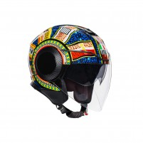 Casco Jet - Demi Jet- AGV ORBYT TOP DREAMTIME