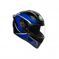 Casco Integrale- AGV K1 MULTI QUALIFY NERO/BLU